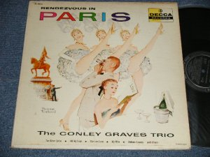 画像1: The Conley Graves Trio - Rendezvous In Paris (Ex+/Ex+++) / 1957 US AMERICA ORIGINAL MONO Used LP