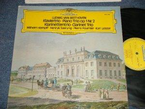 画像1: Ludwig van Beethoven - Wilhelm Kempff ∙ Henryk Szeryng ∙ Pierre Fournier ∙ Karl Leister - Klaviertrio • Piano Trio Op. 1 Nr. 2 / Klarinettentrio • Clarinet Trio (Ex+++/MINT ) / 1974 GERMAN GERMANY ORIGINAL Used LP
