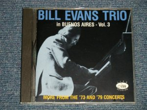 画像1: BILL EVANS - IN BUENOS AIRES - Vol.3 (Ex/MINT) / 1989 1991 Version SWITZERLAND Used CD