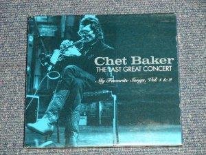 画像1: CHET BAKER - THE LAST GREAT CONCERT : MY FAVORITE SONGS Vol.1&2 (MINT-/MINT) / 2004 CANADA Used 2-CD
