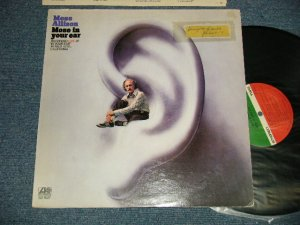 """画像1: MOSE ALLISON - MOSE IN YOUR EAR (Ex+, Ex++/Ex+ A-3:VG+++ STOFC)  / 1974 Version US AMERICA """"RED & GREEN Label"""" & Large """"75 ROCKFELLER Label"""" Used LP"""