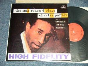 """画像1: The Max Roach 4 - The Max Roach 4 Plays Charlie Parker (MINT-/MINT-) /  1973 Version US AMERICA REISSUE """"RED LABEL"""" Used LP"""