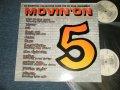 "v.a. Various Omnibus - MOVIN' ON 5 (NEW) / 1993 UK ENGLAND ORIGINAL ""BRAND NEW"" 2-LP's"