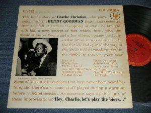 """画像1: CHARLIE CHRISTIAN - WITH THE BENNY GOODMAN SEXTET AND ORCHESTRA (Ex++/MINT- EDSP) / Early 1970's US AMERICA REISSUE """"PROMO"""" MONO Used LP"""