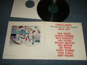 画像1: Charlie Haden, Carla Bley, Don Cherry, Sharon Freeman, Mick Goodrick, Jack Jeffers, Michael Mantler, Paul Motian, Jim Pepper, Dewey Redman, Steve Slagle, Gary Valente - The Ballad Of The Fallen (MINT-/MINT) /1983 WEST-GERMAN GERMANY ORIGINAL Used LP