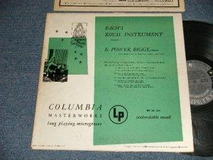 """画像1: E. Power Biggs – Bach's Royal Instrument Volume 1 (Ex+/Ex+++ EDSP) / Late 1950's US AMERICA """"GRAY with 6 EYES LABEL"""" MONO Used LP"""