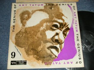 画像1: ART TATUM - THE GENIUS OF #9(Ex+/MINT-  WOBC, EDSP) / 1958 US AMERICA REISSUE MONO Used LP