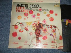画像1: MARTIN DENNY - LATIN VILLAGE (Ex++/Ex+++)/1964 US AMERICA ORIGINAL STEREO Used LP