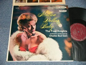 "画像1: The FOUR KNIGHTS - MILLION DOLLAR BABY (Ex+++/MINT-) / 1960 US AMERICA ORIGINAL ""MAROON Label"" STEREO Used LP"