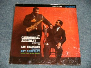 "画像1: The CANNONBALL ADDERLEY QUINTET - IN SAN FRANCISCO featuring NAT ADDERLEY (SEALED) / 1982 WEST-GERMANY REISSUE ""BRAND NEW SEALED""  LP"