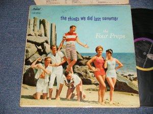 """画像1: The FOUR PREPS - THE THINGS WE DID LAST SUMMER (Ex/Ex- Looks:Ex- TAPE SEAM, WOFCNOISY) / 1958 US AMERICA ORIGINAL 1st Press """"BLACK with RAINBOW Label"""" MONO Used LP"""