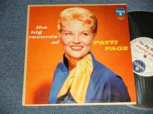 "画像1: PATTI PAGE - The BIG RECORDS OF PATTI PAGE (Ex+/Ex-, Ex+) /1950's US AMERICA ORIGINAL Used 10"" LP"