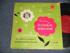 """画像1: DINAH SHORE - REMINISCING DINAH SHORE (Ex/Ex++ EDSP)  / 1949 US AMERICA ORIGINAL Used 10"""" LP"""