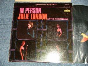画像1: JULIE LONDON - IN PERSON AT THE AMERICANA (Ex++/Ex++ EDSP) / 1964 US AMERICA ORIGINAL STEREO Used LP