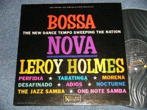"""画像1: LEROY HOLMES - LEROY HOLMES GOES LATIN BOSSA NOVA (EASY LISTENING """"BOSSA"""") (Ex+++/MINT) /1962 US AMERICA ORIGINAL STEREO Used LP"""