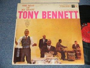 """画像1: TONY BENNETT - THE BEAT OF MY HEART (Ex++/Ex+++) / 1957 US AMERICA ORIGINAL 1st Press """"6 EYE'S Label"""" MONO Used LP"""