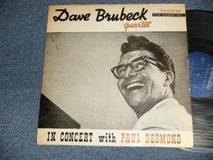 """画像1: DAVE BRUBECK - IN CONCERT With PAUL DESMOND (Ex+/Ex++) / 1954(?) FRANCE FRENCH ORIGINAL """"MEGARAE"""" Used 12"""" LP Version"""