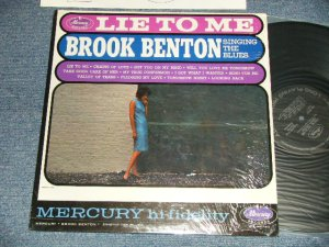 画像1: BROOK BENTON - LIE TO ME : SINGIN' THE BLUES  (MINT-/Ex+++) / 1960 US AMERICA ORIGINAL MONO Used  L