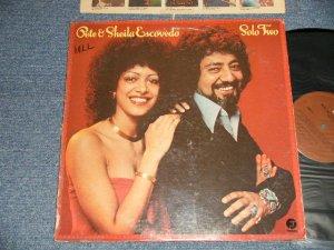 画像1: PETE & SHEILA ESCOVEDO - SOLO TWO (Ex/Ex+++ Looks:Ex++, Ex++ Looks:Ex  WOFC, EDSP) / 1977 US AMERICA ORIGINAL Used LP