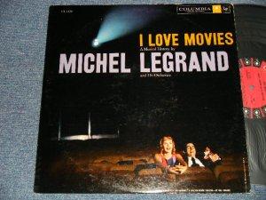 """画像1: MICHEL LEGRAND - I LOVE MOVIES (Ex++/MINT-) /1958 US AMERICA ORIGINAL """"6 EYES Label"""" MONO Used LP"""