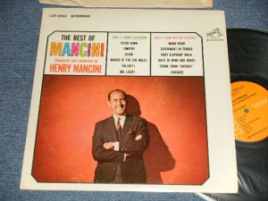 "画像1: HENRY MANCINI - THE BEST OF MANCINI (Ex+++/MINT-) / 1969 Version US AMERICA 2nd Press ""ORANGE Label"" STEREO Used LP"