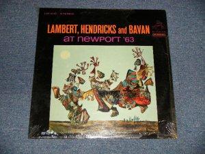 """画像1: LAMBERT, HENDRICKS - AT NEWPORT '63  (SEALED) / 1963 US AMERICA ORIGINAL STEREO """"BRAND NEW SEALED"""" LP"""