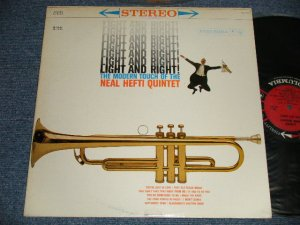"画像1: NEAL HEFTI QUINTET -  LIGHT AND RIGHT! THE MODERN TOUCH OF THE NEAL HEFTI QUINTET (Ex+++/MINT-) / 1960 US AMERICA ORIGINAL ""6 EYES Label"" STEREO Used  LP"