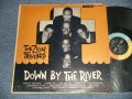The ZION TRAVELERS (L.A.'S NEGRO GOSPEL GROUP) - DOWN BY THE RIVER (Ex/Ex++ EDSP) / GOSPEL GROUP)  (Ex++/Ex++ TAPE SEAM) /  1962 US AMERICA ORIGINAL MONO Used LP