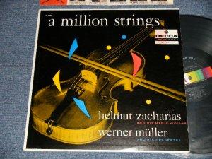 画像1: WERNER MULLER : HELMUT ZACHARIAS - A MILLION STRINGS (Ex+++/MINT-) / 1957 US AMERICA ORIGINAL MONO Used LP