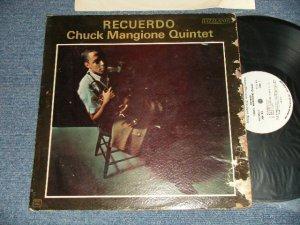 """画像1: CHUCK MANGIONE - RECUERDO (POOR/MINT- WTRDMG, STPOBC) / 1962 US AMERICA ORIGINAL """"WHITE LABEL PROMO"""" MONO Used LP"""