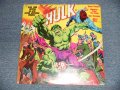"ORIGINAL RADIO BROADCAST - THE INCREDIBLE HULK (SEALED CUTOUT) / 1978 US AMERICA ORIGINAL ""BRAND NEW SEALED"" LP"