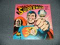 "ORIGINAL RADIO BROADCAST - SUPERMAN  (SEALED) / 1975 US AMERICA ORIGINAL ""BRAND NEW SEALED"" LP"