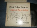 "CHET BAKER  - JAZZ AT ANN ARBOR (Ex/Ex++) / 1971 US AMERICA 2nd Press Label Version ""BLACK with WORLD PACIFFIC on Top Label""  MONO Used LP"