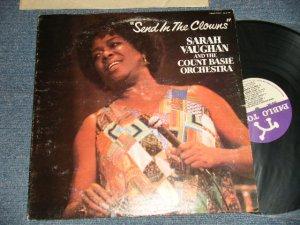 画像1: SARAH VAUGHAN and The COUNT BASIE ORCHESTRA - SEND IN THE CLOWNS (Ex+/Ex+++) / 1981 US AMERICA ORIGINAL Used LP