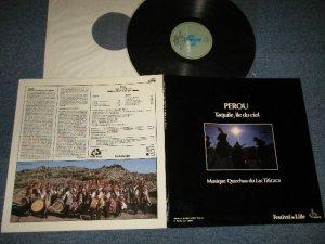 画像1: QUECHWA - PEROU Pérou (Taquile, Île Du Ciel / Musique Quechua Du Lac Titicaca) (MINT-/MINT) / 1954 FRANCE ORIGINAL Used LP