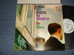 "画像1: BOB BROOKMEYER'S KC SEVEN - KANSAS CITY REVISITED (Ex+++, Ex+/MINT STPOBC, WOBC)  / 1959 US AMERICA ORIGINAL ""WHITE LABEL PROMO"" ""MONO"" Used LP"
