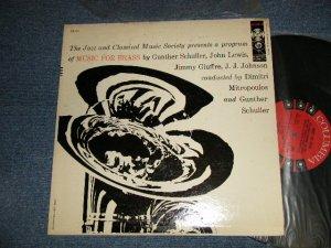 """画像1: THE BRASS ENSEMBLE Of The Jazz And Classical Music Society  (Solists : MILES DAVIS, J.J.JOHNSON, JOE WILDER ) - MUSIC FOR BRASS (Ex++/MINT) / 1957 US AMERICA ORIGINAL """"6-EYE'S Label"""" MONO Used LP"""