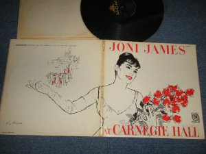 "画像1: JONI JAMES - AT CARNEGIE HALL (Ex+++/Ex++ B-1:Ex Looks:MINT- EDSP) /1959 US AMERICA ORIGINAL 1st Press ""Black Label"" MONO Used LP"