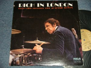 画像1: BUDDY RICH - RICH IN LONDON (Ex++/Ex+++) /1972 US AMERICA ORIGINAL Used LP