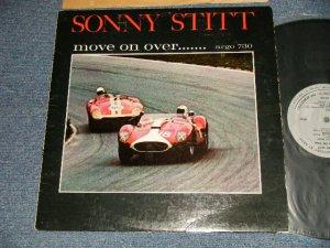 """画像1: SONNY STITT - MOVE ON OVER (Ex, Ex-/Ex Looks:VG++) / 1964 US AMERICA  ORIGINAL """"1st Press GRAY Label"""" """"MONO"""" Used LP"""