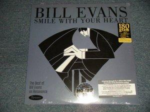 """画像1: BILL EVANS - SMILE WITH YOUR HEART(SEALED) / 2019 US AMERICA ORIGINAL """"180 gram"""" """"BRAND NEW SEALED"""" LP"""