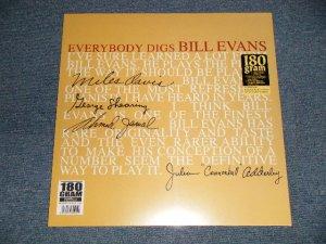 """画像1: BILL EVANS - EVERYBODY DIGS (SEALED) / 2012 EUROPE  REISSUE """"180 gram Heavy Weight"""" """" BRAND NEW SEALED""""  LP"""