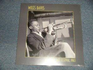 """画像1: MILES DAVIS - MONTEREY JAZZ FESTIVAL, 1963  (SEALED) / 2015 EUROPE /  Iceland ORIGINAL """"UN-OFFICIAL"""" """"Brand New Sealed"""" LP"""