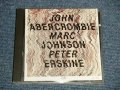 John Abercrombie / Marc Johnson / Peter Erskine - John Abercrombie / Marc Johnson / Peter Erskine (Ex+++/MINT) / 1989 GERMAN GERMANY ORIGINAL  Used CD
