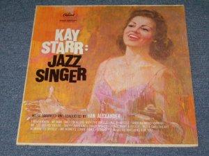 """画像1: KAY STARR - JAZZ SINGER (Ex/Ex+++)  / 1960 US AMERICA ORIGINAL 1st Press """"BLACK with RAINBOW Ring CAPITOL Logo On LEFT Side """"Label MONO LP"""