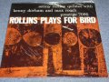 "SONNY ROLLINS -  ROLLINS PLAYS FOR BIRD (SEALED)  / 1986 WEST-GERMANY Reissue ""Brand New Sealed"" LP"