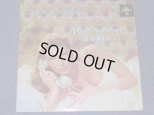 画像1: JULIE LONDON - YOUR NUMBER PLEASE ... / 1960 US ORIGINAL STEREO LP