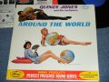 QUINCY JONES and His ORCHESTRA - AROUND THE WORLD / 1961 US ORIGINAL MONO  LP
