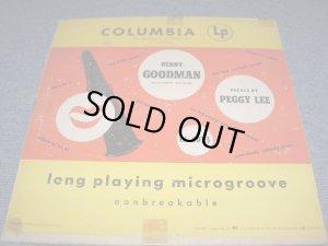 """画像1: BENNY GOODMAN / PEGGY LEE - BENNY GOODMAN Vocal By PEGGY LEE / 1949 US ORIGINAL 10""""LP"""