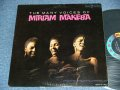 MIRIAM MAKEBA - THE MANY VOICES OF / 1962 US ORIGINAL MONO  Used LP